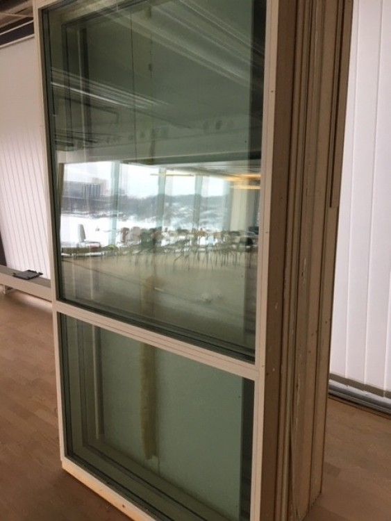 Glasparti - 100x220 Isolerglas