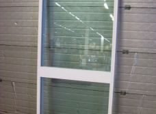 Glasparti - 89x205 Isolerglas Argon Vit